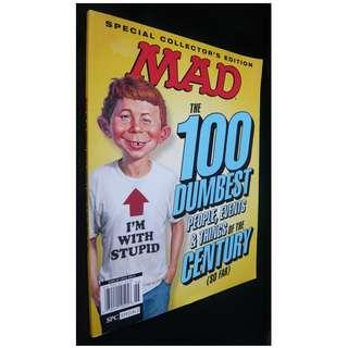 MAD Magazine: The 100 Dumbest People, Events & Things of the Century (So Far) (Humour)