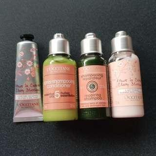 Loccitane bundle!