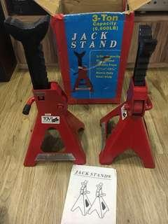 2 pc Jack stand
