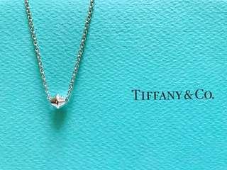 【近全新。真品】Tiffany 經典款 時來運轉 轉珠 紡錐 項鍊 925純銀