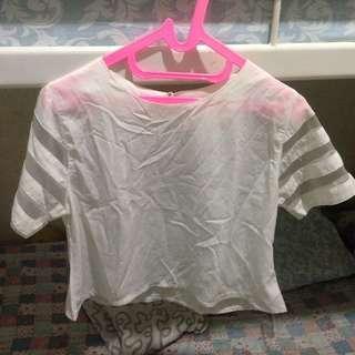 Baju atasan putih #yukjualan