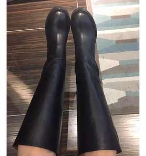 正品 Acne 黑色長靴 37