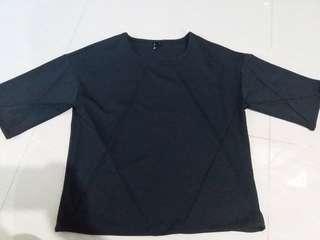 Black formal top