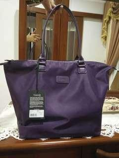 Original Brand new Lipault Paris medium purple tote bag