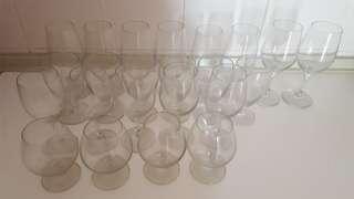 Reduced Price !!Wine Glasses