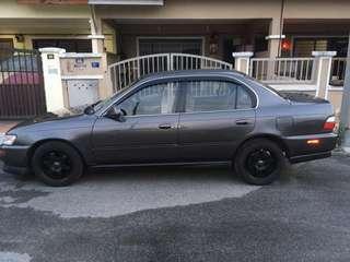 Toyota Corolla SEG 1.6cc blacktop 4thorttle