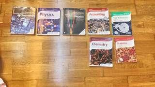 GCE A Level textbooks/coursebooks and Past year