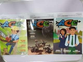2018 Latest ACE MAGAZINES ISSUE 23 TO 25 (3 FOR $5 only)
