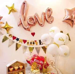 Lover decorating set
