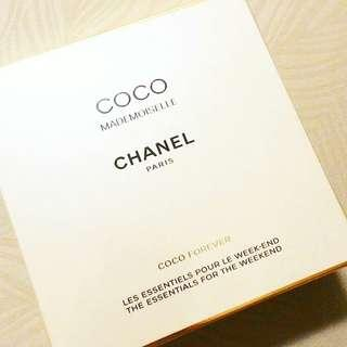CHANEL COCO MADEMOISELLE THE ESSENTIALS SET  1 X EAU DE PARFUM SPRAY 35ML  1 X DRY BODY OIL 50ML  100% AUTHENTIC & BRAND NEW PLASTIC SEALED IN BOX  RM420 LIMITED TIME ONLY