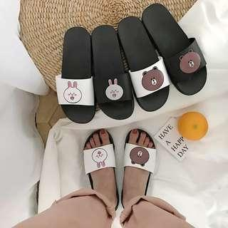 Rm17🐻Line Brown Bears sandal #Everything18