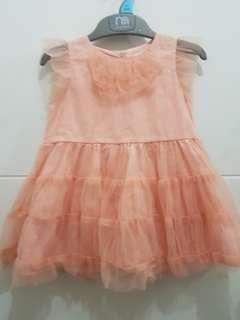 Orange dress from Peppermint- 3t