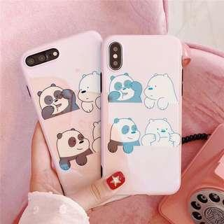 We bare Bears soft iphone case
