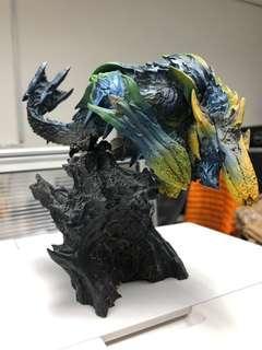 絕版Monster Hunter 碎龍 figure