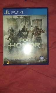 For Honor ps4 deluxe edition