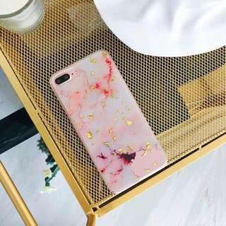 Pink Marble Case for Iphone 7 Plus