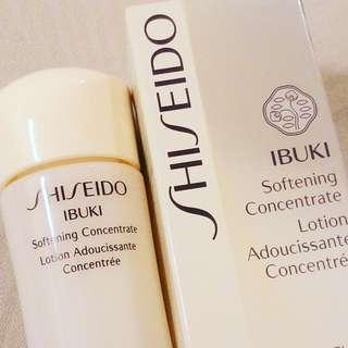 HOLIDAY SPECIAL RM85 (WAS RM98) VALID FOR 2 DAYS ONLY  SHISEIDO IBUKI SOFTENING CONCENTRATE   HYDRATION SERUM  100% AUTHENTIC & BRAND NEW IN BOX  RM98 LIMITED TIME ONLY