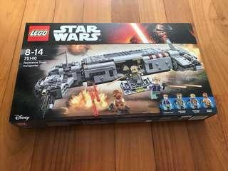 Lego Resistance Troop Transporter 75140