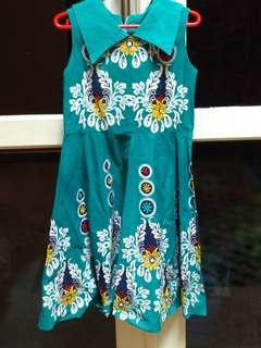 Dress Batik Vintage Sleeveless