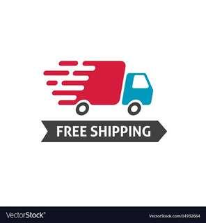 Freeshipping on selected items until friday