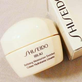 HOLIDAY SPECIAL RM60 (WAS RM75) VALID FOR 2 DAYS ONLY  SHISEIDO IBUKI REFINING MOISTURIZER ENRICHED  ENRICHED HYDRATING NIGHT CREAM  100% AUTHENTIC & BRAND NEW IN BOX  RM75 LIMITED TIME ONLY