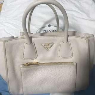 Prada white bag