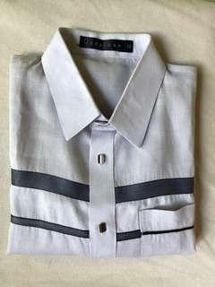 Onésimus Short Sleeves Polo Barong