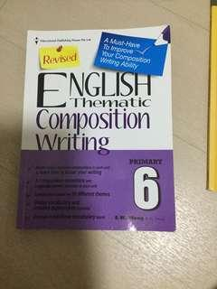 English thematic composition writing