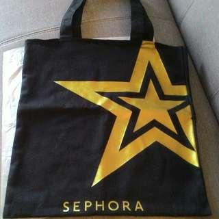 SEPHORA LARGE TOTE BAG  100% AUTHENTIC & BRAND NEW  RM50 LIMITED TIME ONLY