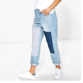 Mom Patch Jeans