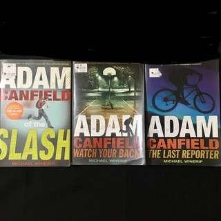 Adam canfield trilogy (whole set)