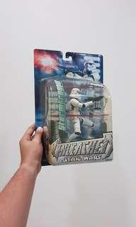 STAR WARS UNLEASHED STORMTROOPER ACTION FIGURE