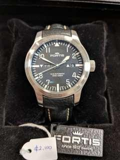 Offer - Fortis Automatic Pilot Watch B42 Swiss Flieger 655.10.11 nt seiko steinhart squale tag