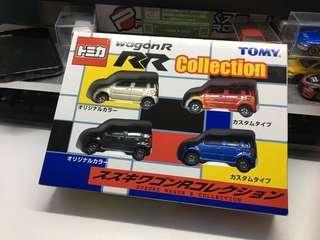 tomica  tomy  Suzuki wagon RR boxset