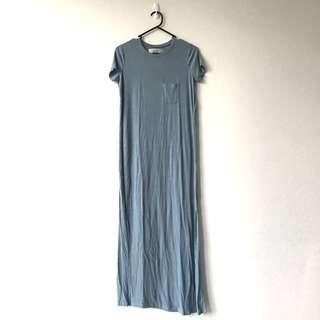Free People Maxi Shirt Dress
