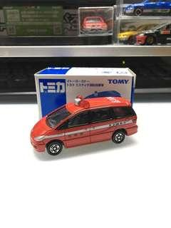 Tomica tomy Toyota Estima 消防指揮車