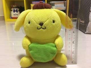 Sanrio PN 布布 布甸狗 有蝴蝶尾 14cm高