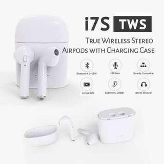 i7s Wireless Bluetooth Headset With Charging Case