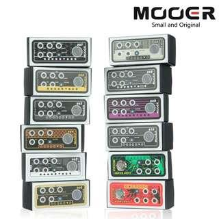Mooer Micro Preamp Pedals - Guitar Effects Pedal