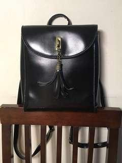 Small Leather Backpack