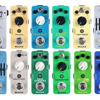 Mooer Micro Stompbox Pedals - Guitar Effects Pedal