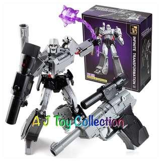 [ In Stock ] Transformers Infinite Transformation IT-01 Megatron MP36 KO