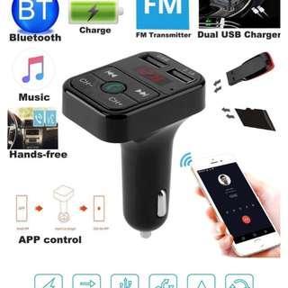 New Bluetooth Hands-free Music Car Adapter