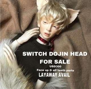 Switch Dojin BJD head ball jointed doll