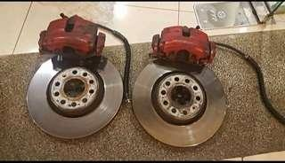 VW Golf GTI Original Brake Kit (Used)