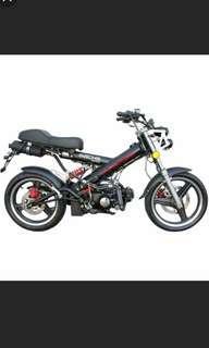 Rare sachs madass 125cc for quick sale cheap!!!