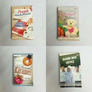 #EVERYTHING18 Malay Novels combo sells