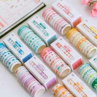 10 piece washi tape set [preorder]