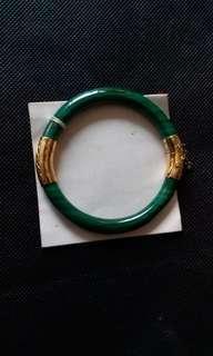 Malachite bangle