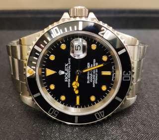 罕有 Rolex Submariner 16610 T<25 勁黃